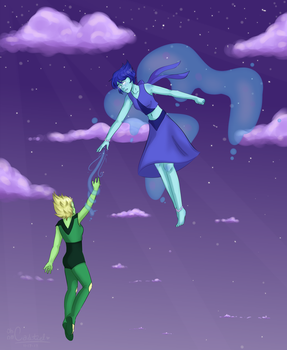 acrophobia [ lapidot ] by oh-no-Castiel