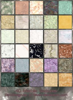 Marble Textures by silver-