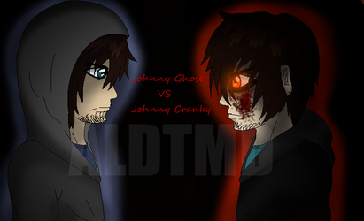 Johnny Ghost VS Johnny Cranky by AlTheDetermined