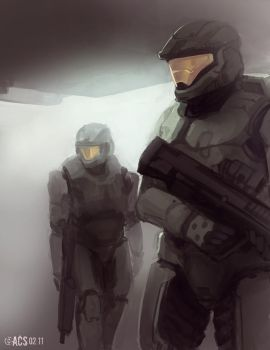 Halo Spartans by Shimmering-Sword