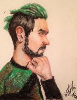 Jacksepticeye Drawing by dolphintreasure81