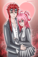 Reno and Alfieanne by ladylucienne