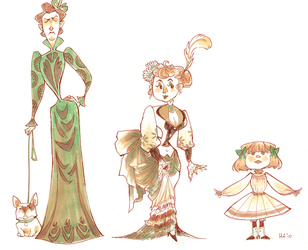 Victorian Ladies by hayoubi