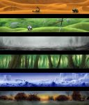Fantasy Landscapes by PeterSiedlArt