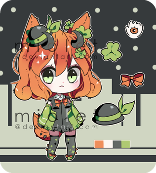 OPEN: St. Patrick's Inspired Cacteen Auction by miolet
