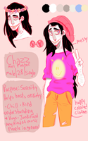 Personal Ref: Chazz Foster by GR0SSZ0MBIE