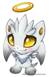 Chao Silver by Extra-Fenix