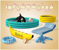 Inflatables (Props Pack) [XPS] by deexie