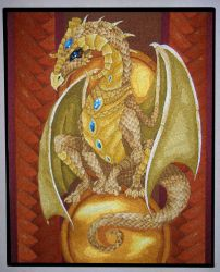 Dragon tapestry DONE by moonbaydesigns