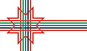 Finno-Ugric flag by SES-mies