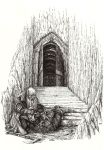 Nar at the gate of Moria by Tulikoura