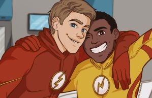 Barry And Wally  by prettyoddchild