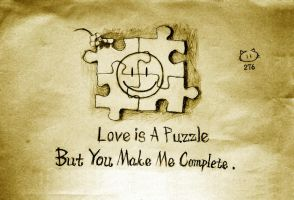 Love is a puzzle by 5h3ll3x