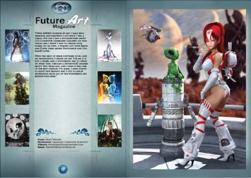 Fredy Fam Magazine Pages by Future-Art-Magazine