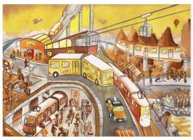 Public Transports by Mawee1034