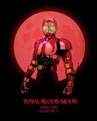 Total Blood Moon by andicahyow