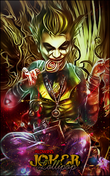 Joker Lollipop by Red-wins