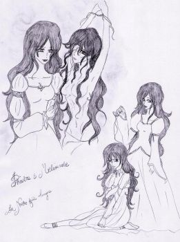 Phedre e Melisande by Lacus-Clyne