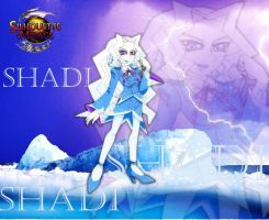 Skadi in ice wonderland by peridive78
