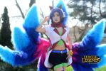 League Of Legends Cosplay - Ahri by Kirchos