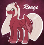Rouge - OHP by ShinyArts16