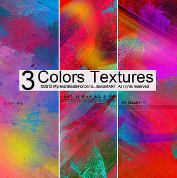 Pack Colors Textures+O16. by MyHeartBeatsForDemiL