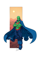 Martian Manhunter commission by phil-cho