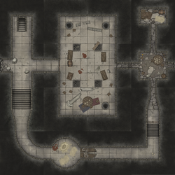 Underground Fighting Club (Modular Dungeons) by eViLe-eAgLe