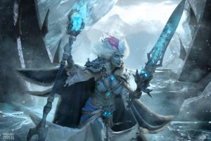 Frost Lich Jaina VIII by Narga-Lifestream