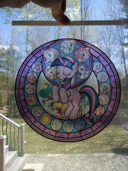 Twilight Sparkle Suncatcher by Akili-Amethyst