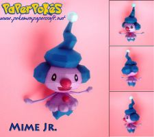 Mime Jr. Papercraft by Olber-Correa