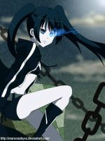 Black Rock Shooter by MaroonAbyss