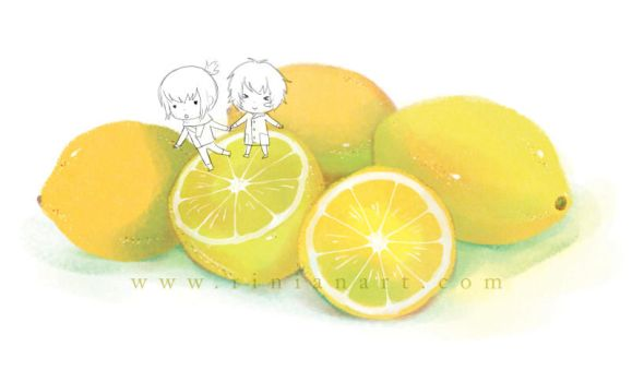Happy Lemons by Rinian
