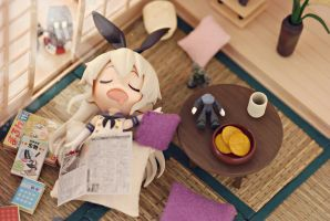 Sleepy Shimakaze~ by vince454
