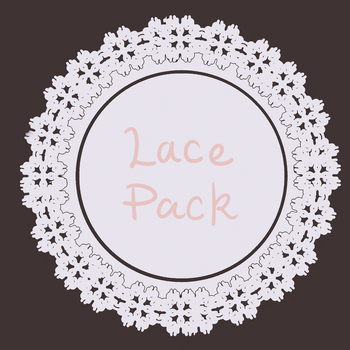 Lace Circle Pack by BabyPippo