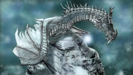 Paarthurnax by DragonOfTheDamned