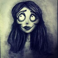 The Corpse Bride Emily by myrt-SHINee