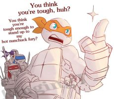 Michelangelo is Awesome by RingingT