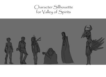 Sillhouette Characterdesign by Aui-song