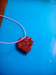 Heart necklace by stacylyn