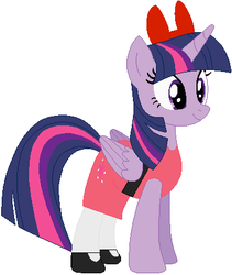 Twilight Sparkle as Blossom by user15432