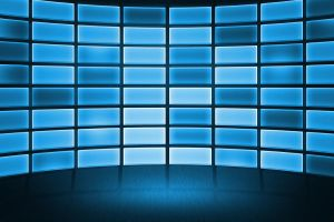 Free DataWall Stage Background by mkrukowski
