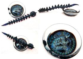 Alien Dish and spike set by wickedglass