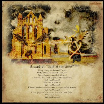 Legend of Fight at the Ruins by blackiron