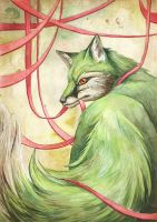 Green Amber Fox by GreenAmb