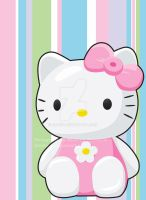 Hello Kitty Poster by blo0p