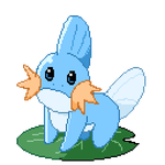 F2U Animated Pokemon: Mudkip Pixel Art by Revy-oli