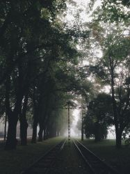 Foggy morning by KarmensPhotos
