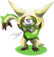 Chesnaught by T-Reqs