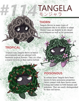 Variants of Tangela